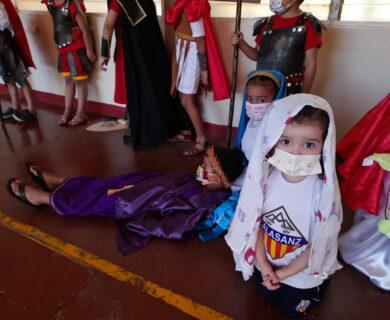 Vía Crucis - Educación Inicial - Calasanz Managua